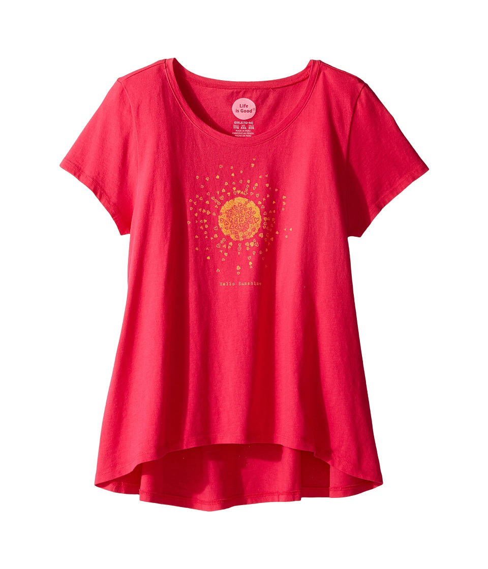 Life is Good Kids - Hello Sun Scoop Neck Swing Tee