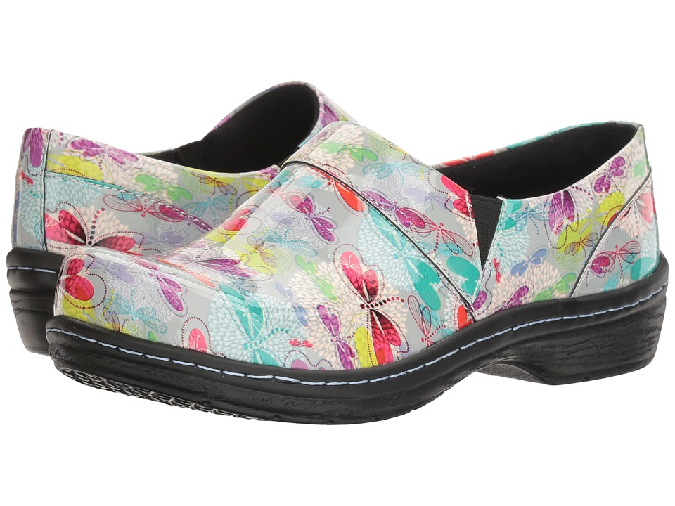 Klogs Footwear - Mission (Spring Dragonfly Patent) Women's Clog Shoes
