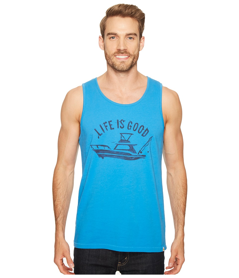 Life is Good - Fish Boat Surfer Tank