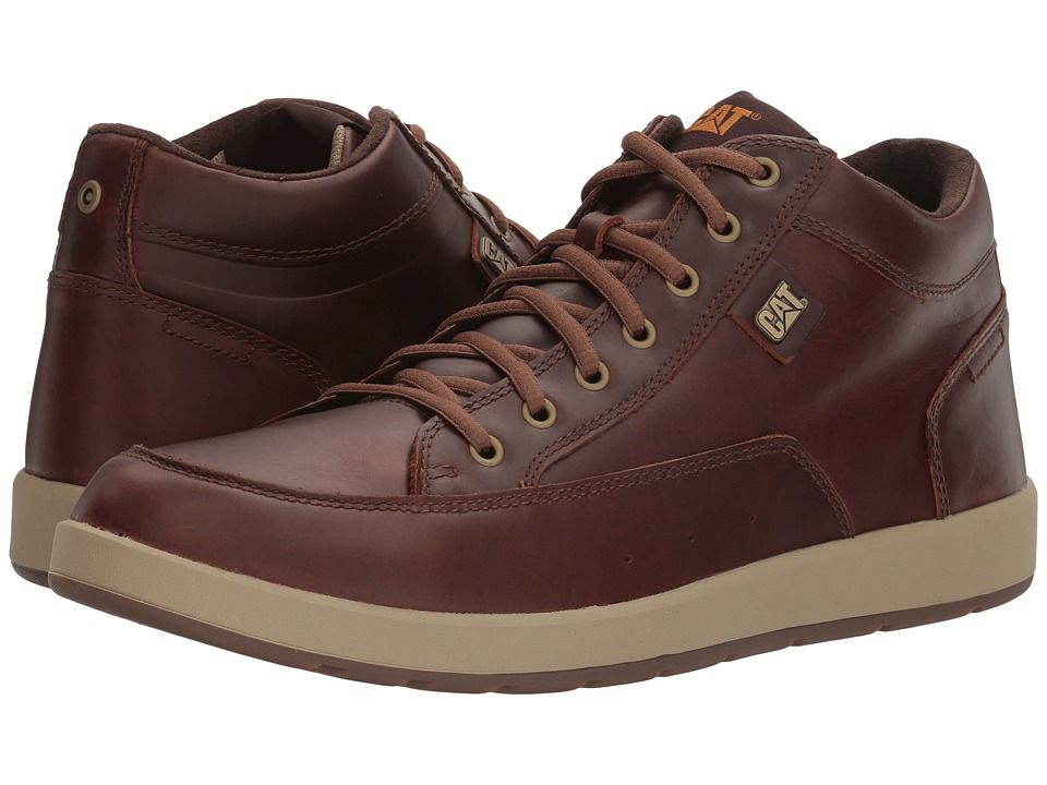Caterpillar - Broadwick (Dark Brown) Men's Lace up casual Shoes