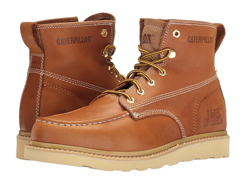 Caterpillar - Glenrock Mid (Golden Coast) Men's Work Boots