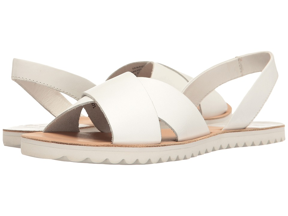 Sebago Sidney Slingback (White Leather) Women