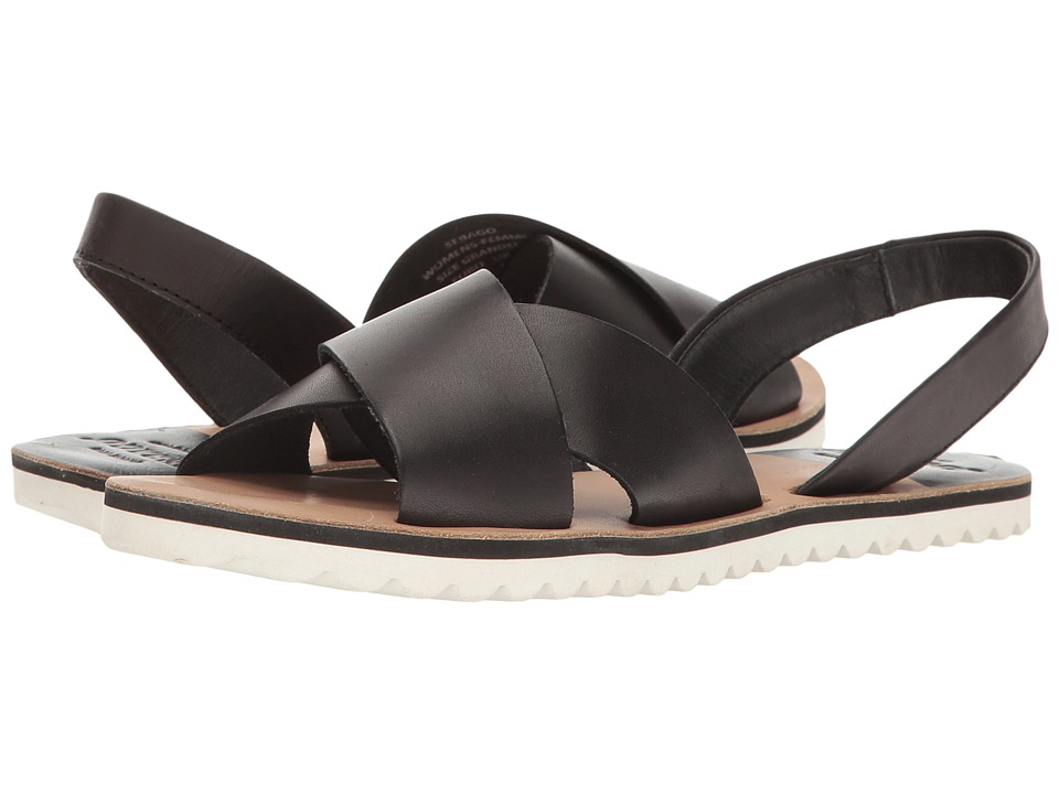 Sebago Sidney Slingback (Black Leather) Women