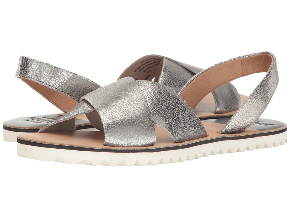 Sebago Sidney Slingback (Metallic Leather) Women