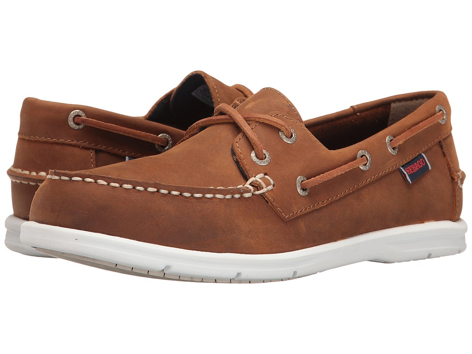 Sebago Liteside Two Eye (Medium Brown Leather) Women
