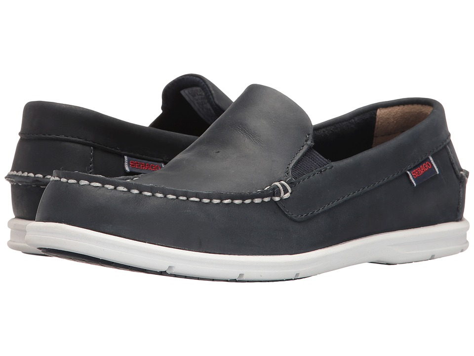 Sebago Liteside Slip-On (Navy Leather) Women