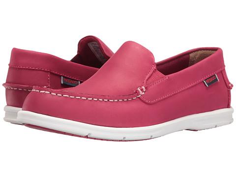 Sebago Liteside Slip-On - Dark Pink Leather