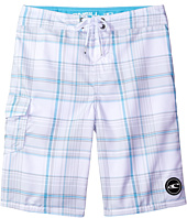 O'Neill Kids - Santa Cruz Plaid Boardshorts (Big Kids)