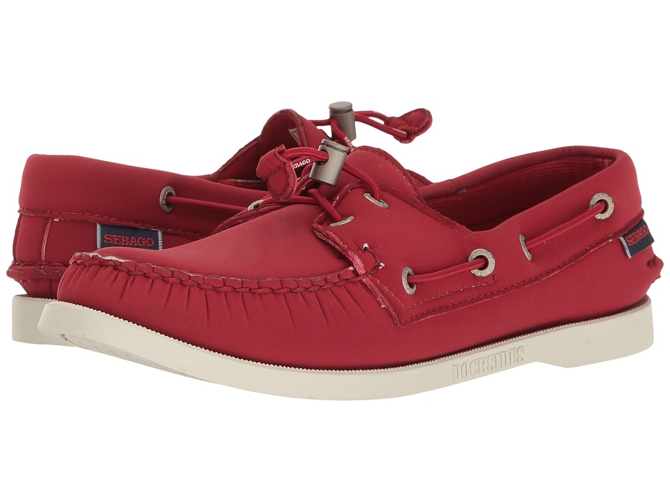 Sebago Dockside Ariaprene (Red Ariaprene) Women