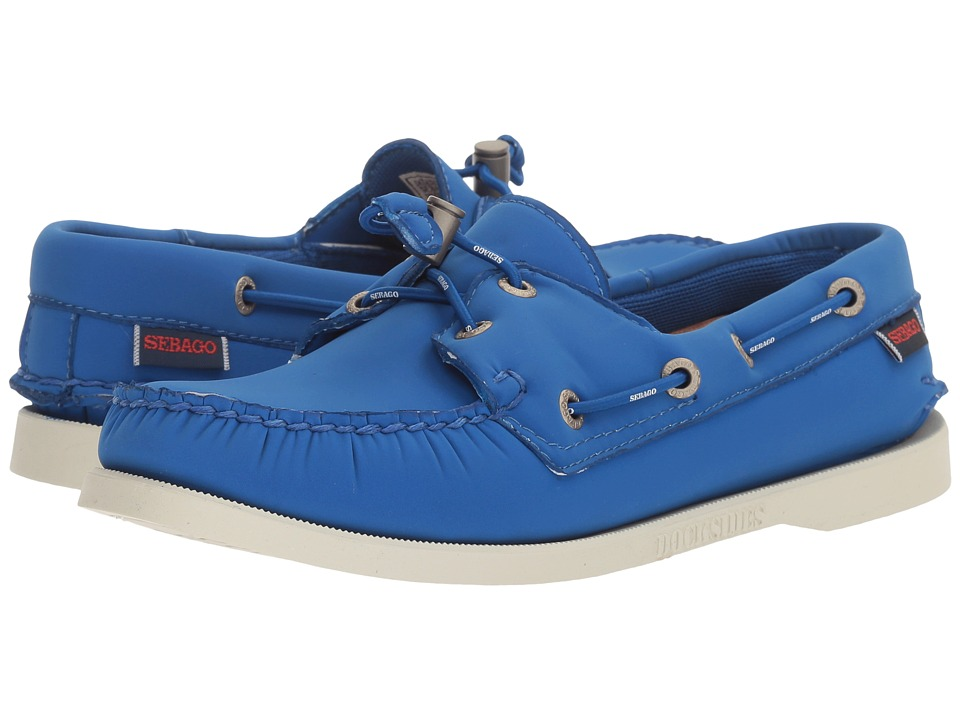 Sebago Dockside Ariaprene (Blue Ariaprene) Women