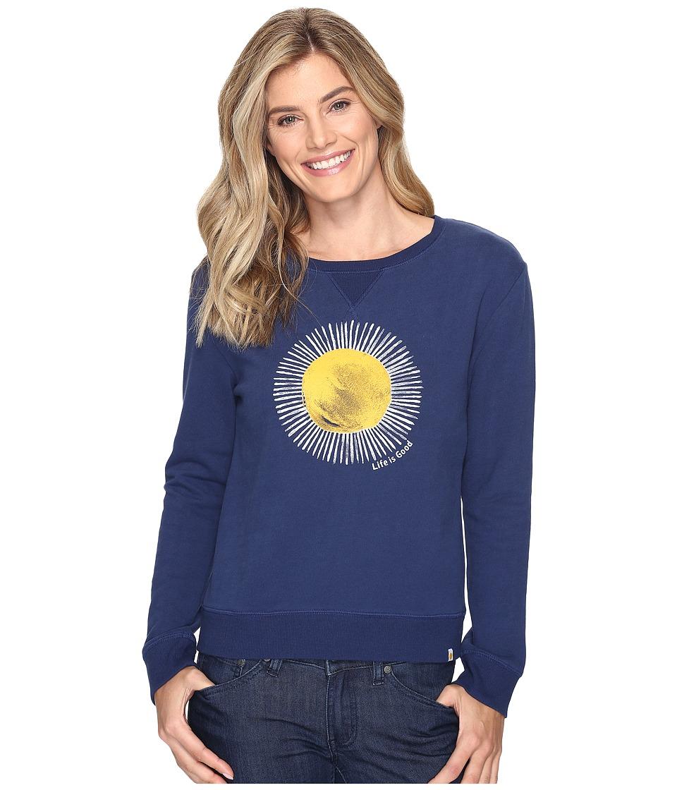 Life is Good - Sun Go-To Crew Sweatshirt