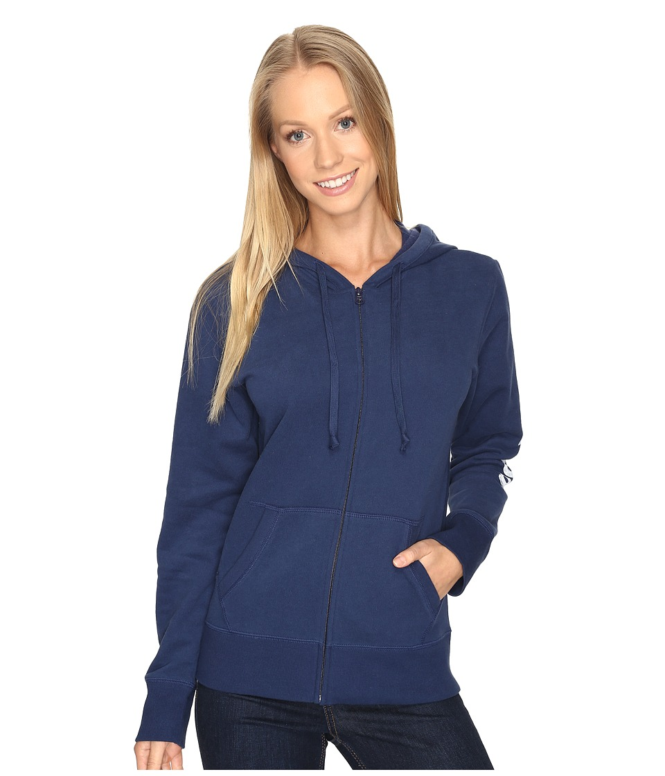 Life is good Life is Good Go-To Zip Hoodie (Darkest Blue) Women
