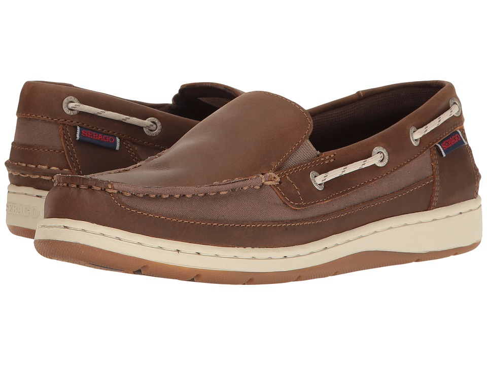 Sebago Maleah Slip-On (Dark Brown Leather) Women