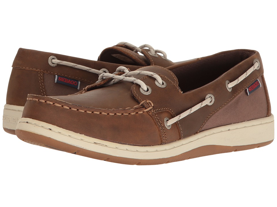 Sebago Maleah Two Eye (Dark Brown Leather) Women