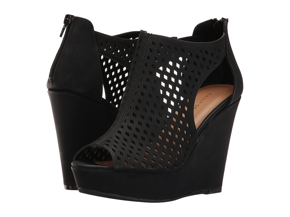 Chinese Laundry Indie Wedge (Black) Women