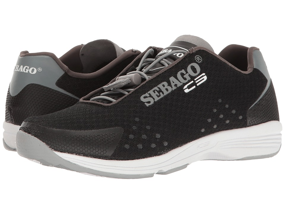 Sebago Cyphon Sea Sport (Black/Grey Textile) Women
