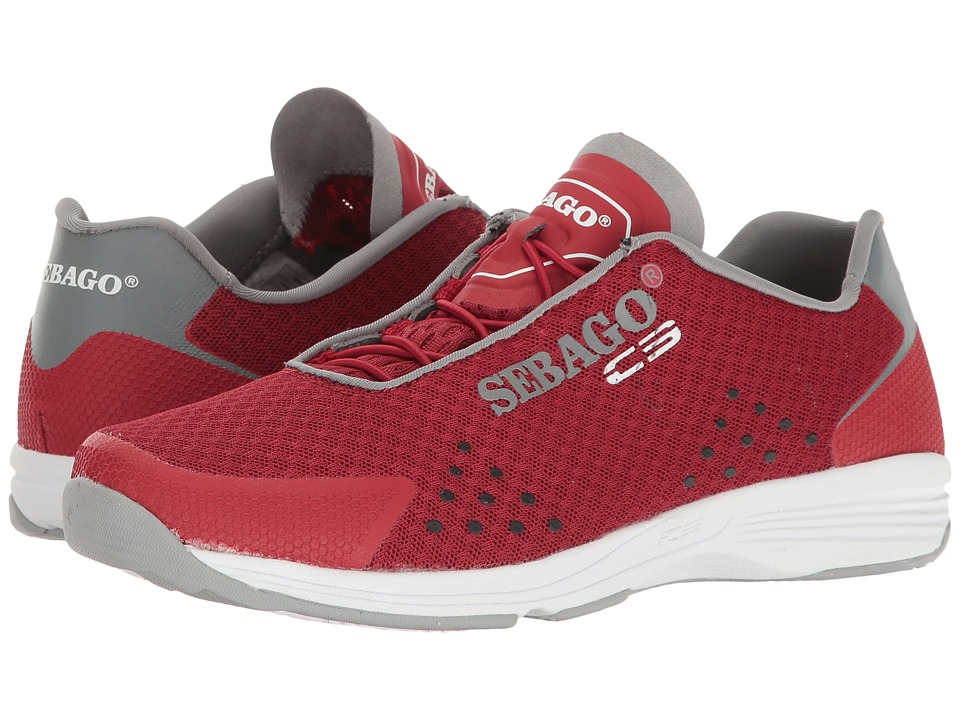 Sebago Cyphon Sea Sport (Red/Grey Nubuck) Women