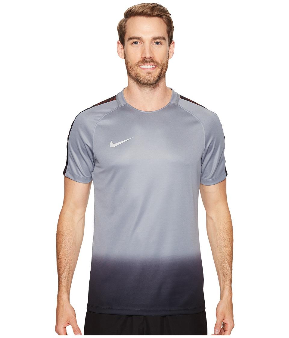 Nike - Dry CR7 Squad Soccer Top (Cool Grey/Tart/Metallic Silver) Men's Short Sleeve Pullover