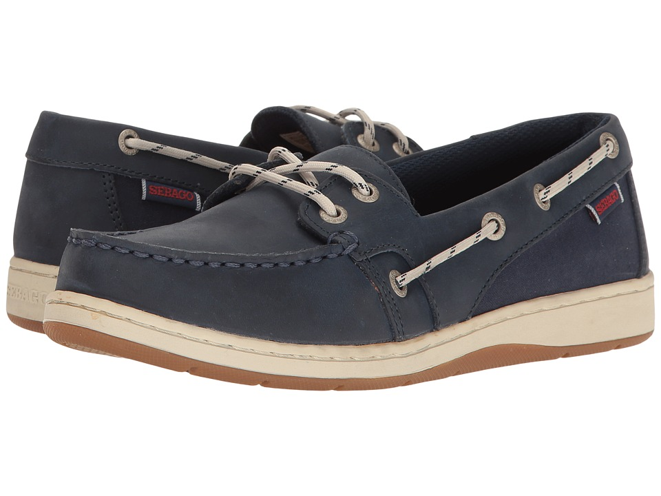 Sebago Maleah Two Eye (Navy Leather) Women