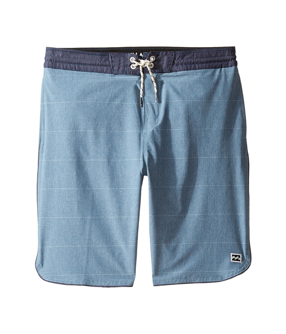 Billabong Kids 73 LT Boardshorts (Big Kids) (Blue) Boy