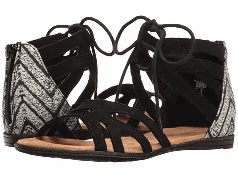 Minnetonka Kids Meri Sandal (Toddler/Little Kid/Big Kid) - Black