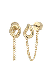 Michael Kors - Autumn Luxe Curb Link Stud Earrings