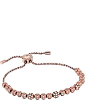 Michael Kors - Colored Metal and Pavé Beaded Adjustable Slider Bracelet