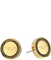 Michael Kors - Logo Stud Chain Earrings