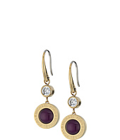 Michael Kors - Logo Mother-of-Pearl Drop Earrings
