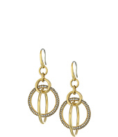 Michael Kors - Brilliance Pavé Crystal Orbital Drop Earrings