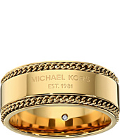 Michael Kors - Logo Plaque Band Ring