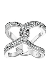Michael Kors - Brilliance Pavé Crystal Interlock Ring