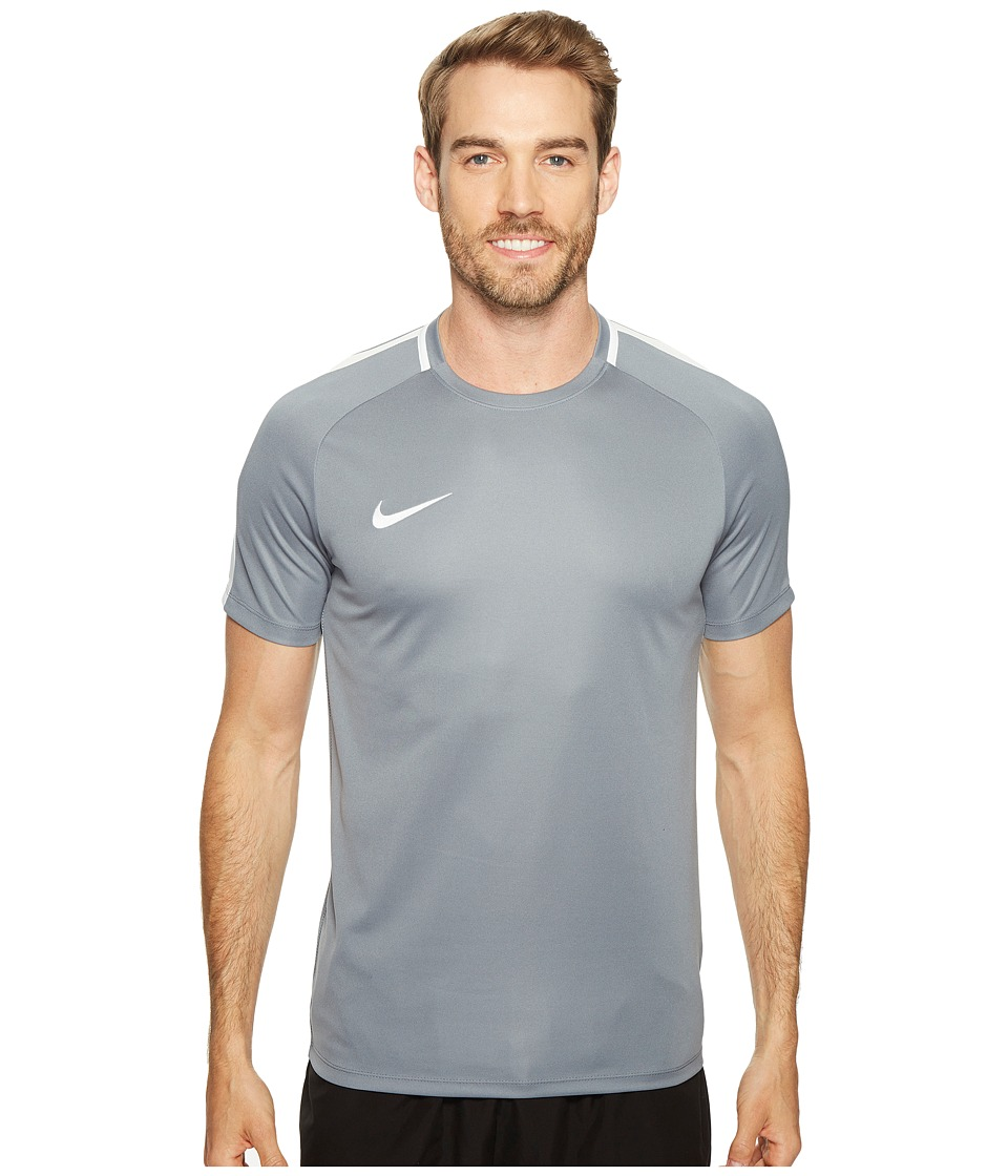Nike Dry Academy Soccer Shirt (Cool Grey/White/White) Men