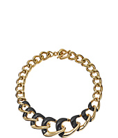 Michael Kors - Autumn Luxe Acetate and Stainless Steel Curb-Link Statement Necklace