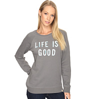 Life is Good - Life is Good® Go-To Long Crew Sweatshirt