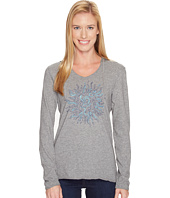 Life is Good - Sun Long Sleeve Hooded Smooth Tee