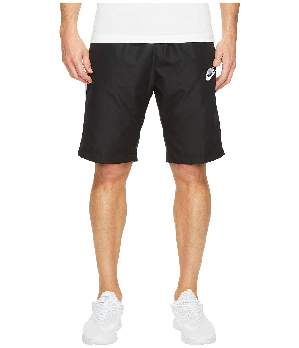 Nike Woven Season Short (Black/White/White) Men