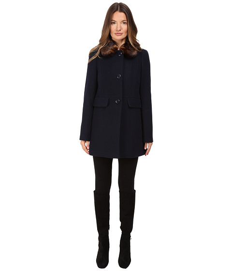 Kate Spade New York Single Breasted Peacoat 30