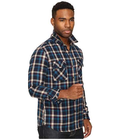Huf taylor flannel shirt for Athletic cut flannel shirts