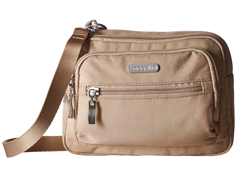 Baggallini - Triple Zip Bagg (Beach) Cross Body Handbags