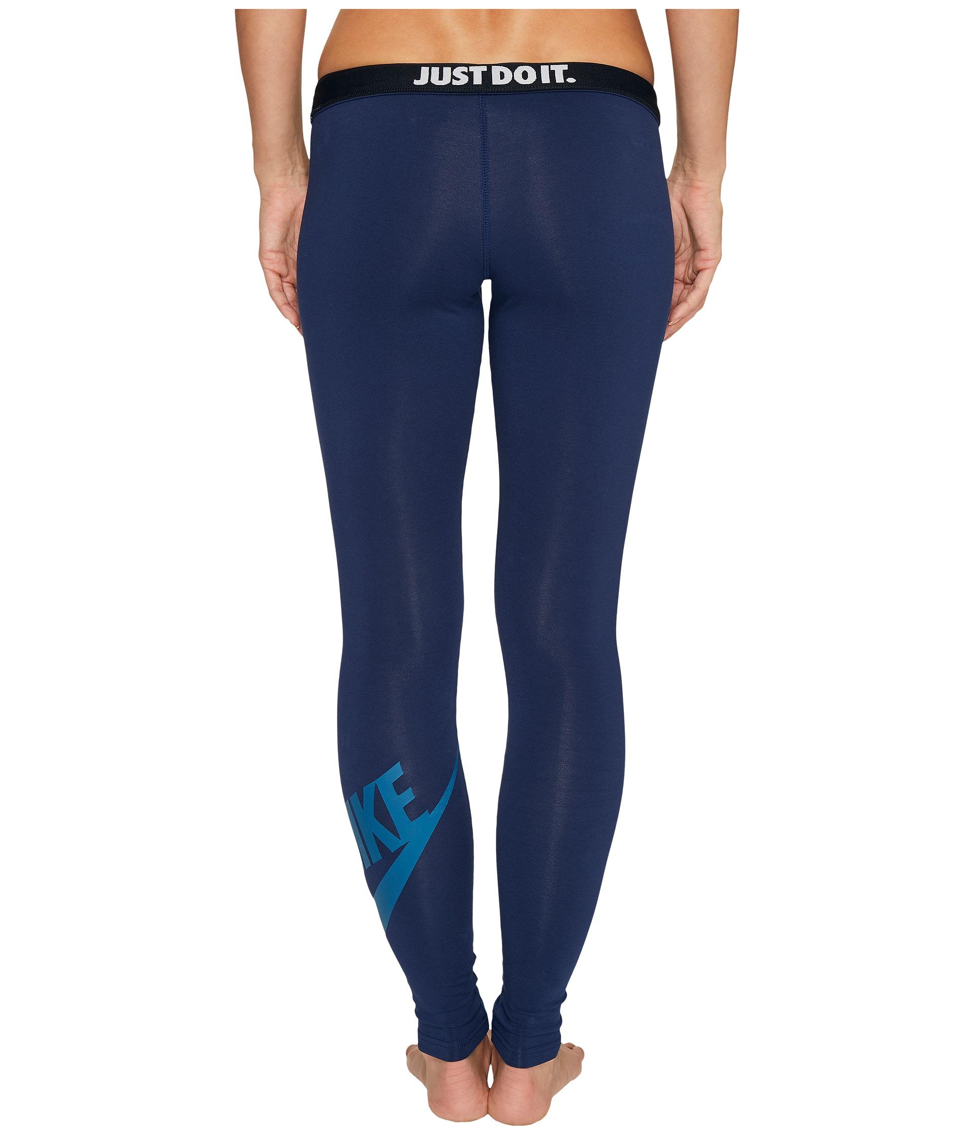 Nike Leg-A-See Logo Legging at Zappos.com