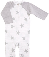 aden + anais - Long Sleeve Henley One-Piece (Infant)