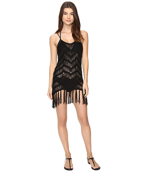 Vitamin A Swimwear Gatsby Dress Cover-Up - Gatsby Black