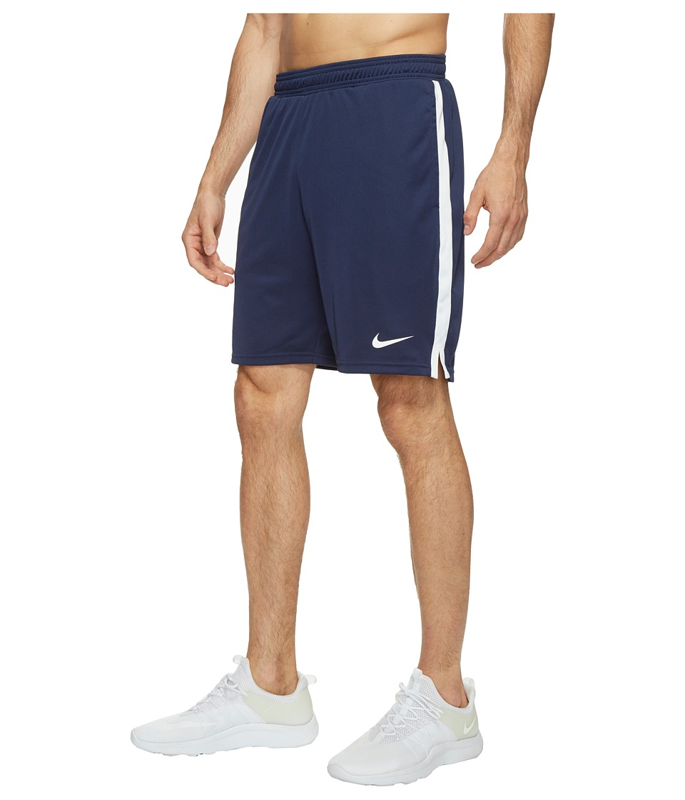 Nike Court Dry 9 Tennis Short (Midnight Navy/White) Men