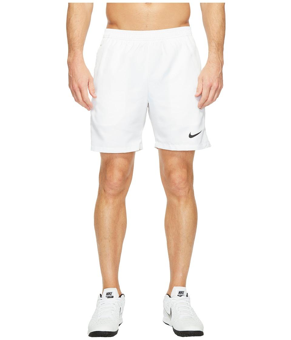 Nike Court Dry 7 Tennis Short (White/White/Black) Men