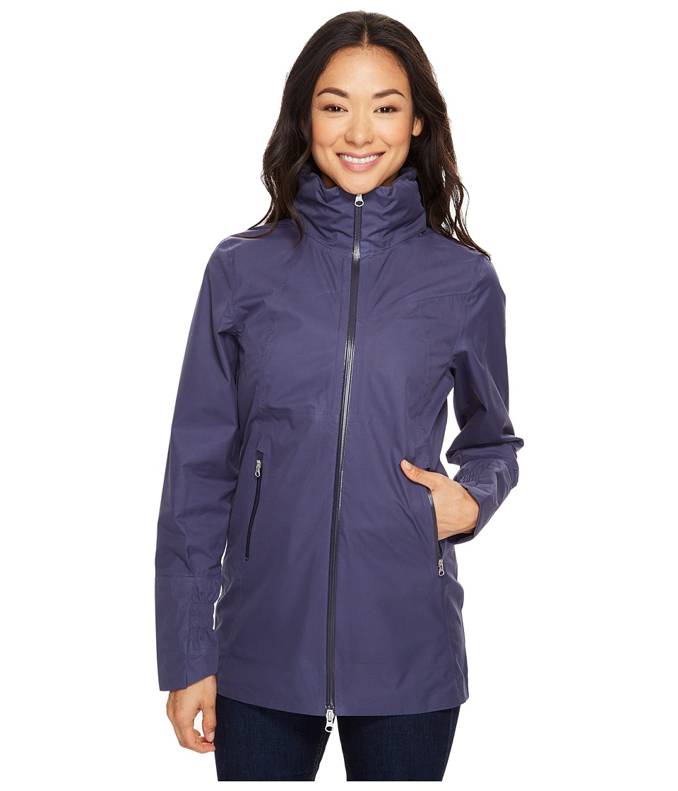 Spyder Surge Shell Jacket (Crown Blue) Women's Coat