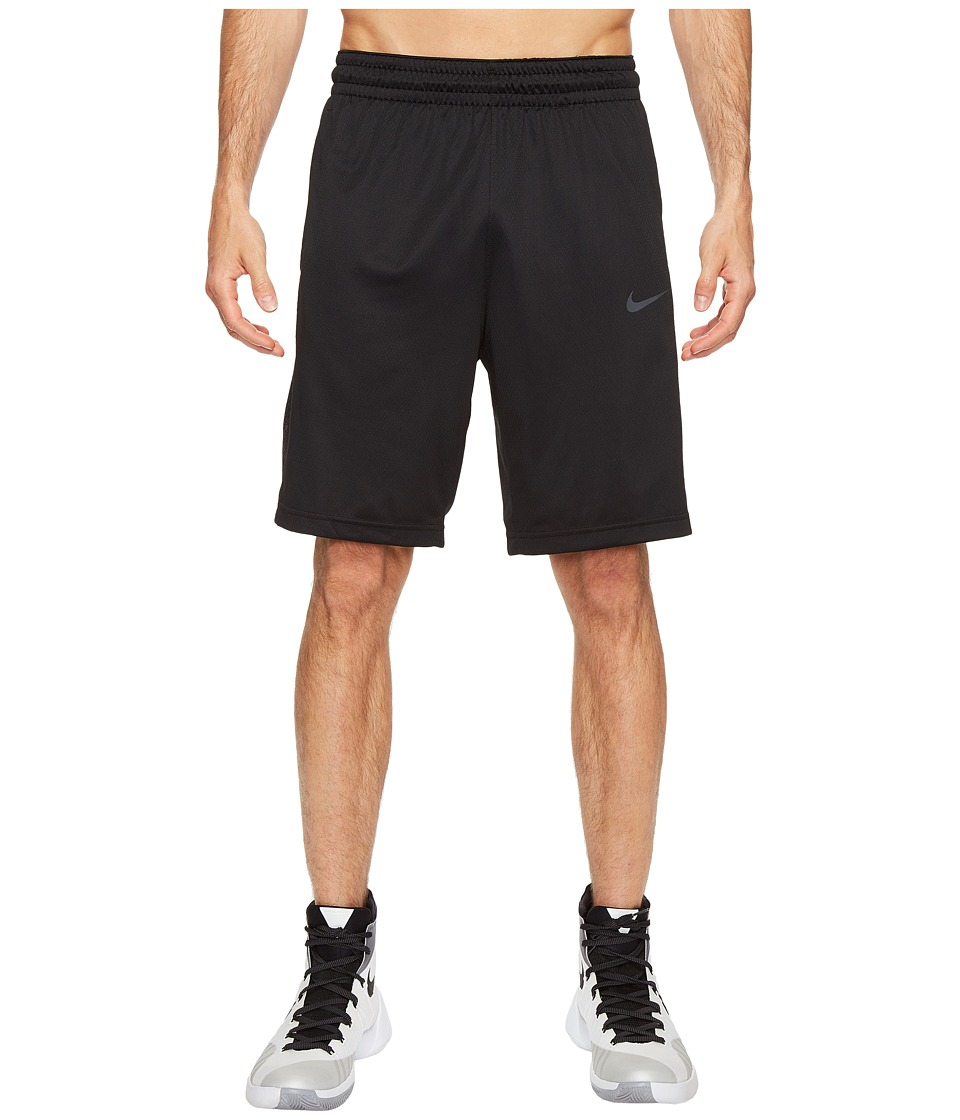 Nike 3-Point Basketball Short (Black/Black/Anthracite/Anthracite) Men
