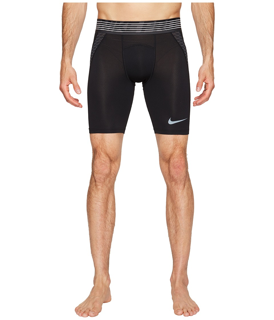 Nike Pro Hypercool Short (Black/Anthracite/Metallic Hematite) Men