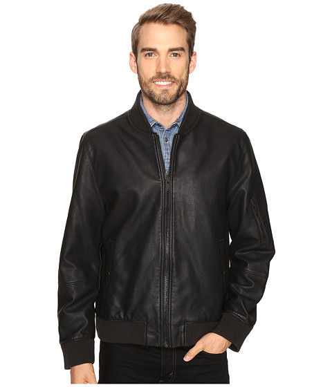 Calvin Klein Jeans Faux Leather Aviator