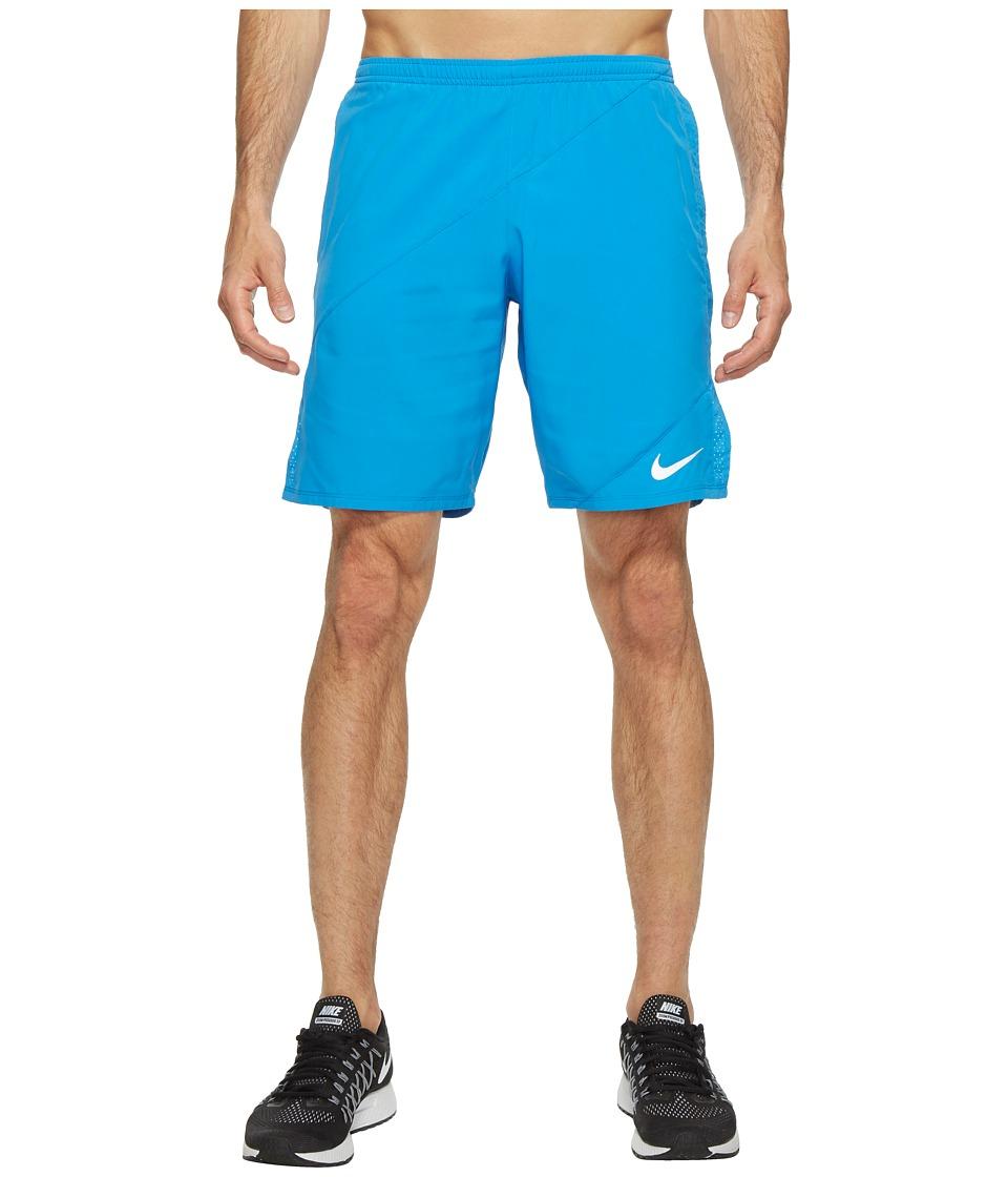 Nike Flex 9 Running Short (Light Photo Blue/Light Photo Blue) Men